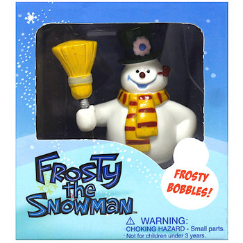 """Frosty the Snowman Bobble Miniature Editions  3"""""""