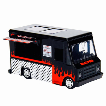 Deadpool Taco Truck Black Hollywood Rides Jada Diecast 1:32 Scale