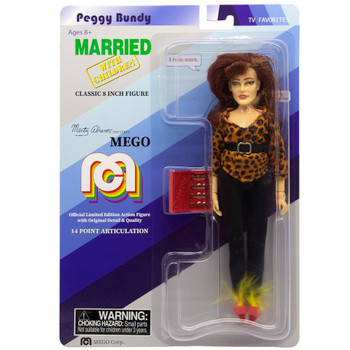 """Peggy Bundy Married with Children Classic 8"""" MEGO Action Figure Re-Issue"""