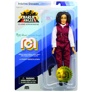 """Sabrina Duncan Charlie's Angels Classic 8"""" MEGO Action Figure Re-Issue"""