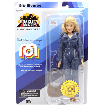 """Kris Munroe Charlie's Angels 8"""" MEGO Classic Action Figure Re-Issue"""