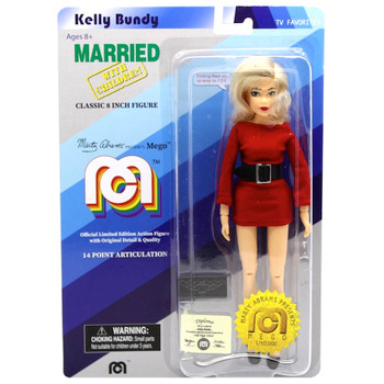 """Kelly Bundy Married with Children 8"""" MEGO Classic Action Figure Re-Issue"""