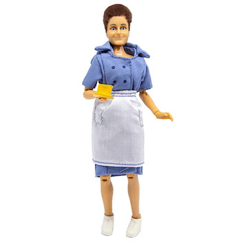 """Alice From The Brady Brunch Classic 8"""" MEGO Action Figure Re-Issue"""