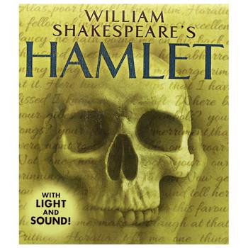 "Yorick's Skull from William Shakespeare's Hamlet Running Press Miniature Editions 3"""