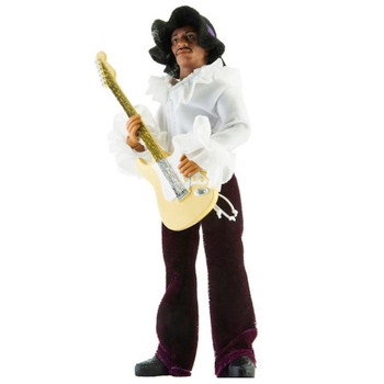 "Jimi Hendrix 8"" Mego Action Figure Re-Issue"