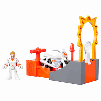 Duke Caboom Imaginext Stunt Set Toy Story 4