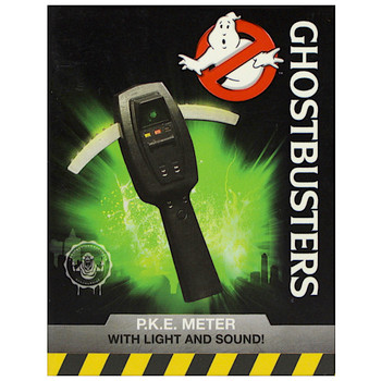"""Ghostbusters PKE Meter Lights & Sounds Running Press Miniature Editions 3"""""""