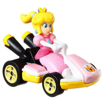 Princess Peach Super Mario Kart Character Car Diecast 1:64 Scale