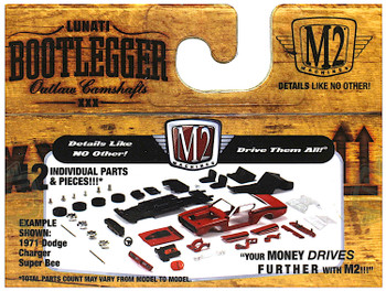 Bootlegger Outlaw Camshafts 1970 Ford Mustang Boss 302 1:64 Scale
