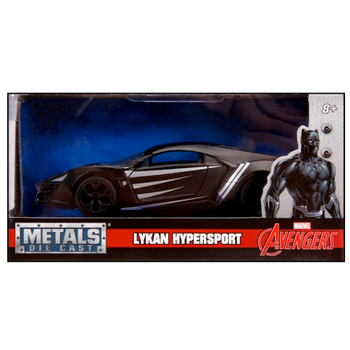 Black Panther Lykan Hypersport Hollywood Rides Diecast Vehicle 1:32 Scale