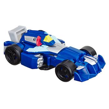 "Whirl the Flightbot Transformer Rescue Bots Academy Robot to Race Car 4.5"" Figure"