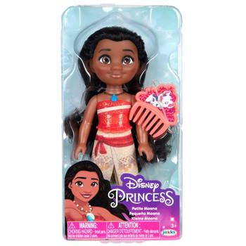 "Moana Petite Disney Princess Doll with Comb 6"""