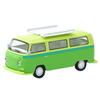 Club V-Dub 1968 Volkswagen Type 2 Bus Greenlight Vehicle 1:64 Scale