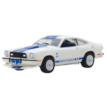 Charlie's Angels Greenlight Hollywood Jill Munroe's 1976 Ford Mustang II Cobra II 1:64 Scale
