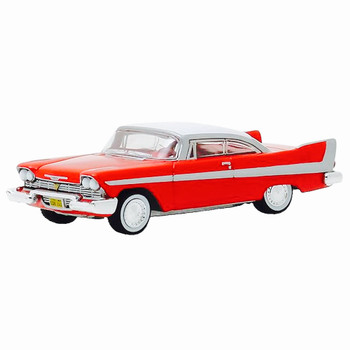 Christine 1958 Plymouth Fury Greenlight Hollywood Vehicle 1:64 Scale