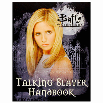 "Buffy the Vampire Slayer Talking Slayer Handbook Miniature Kit 3"""