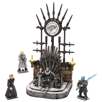 The Iron Throne Game of Thrones Mega Construx Black Series 260 pcs