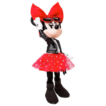 "Minnie Mouse Rock the Polka Dots Signature Doll 13"" Limited Edition"