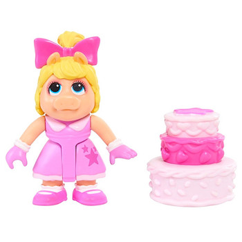 Miss Piggy Muppet Babies Exclusive Poseable Action Figure 2.5""