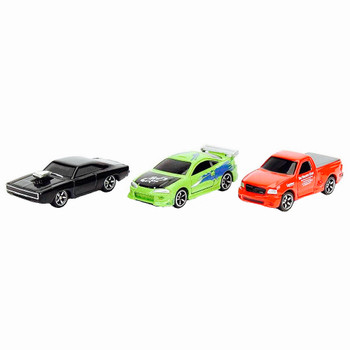Fast & Furious Diecast Nano Hollywood Rides 3 Pack with Brian's Ford