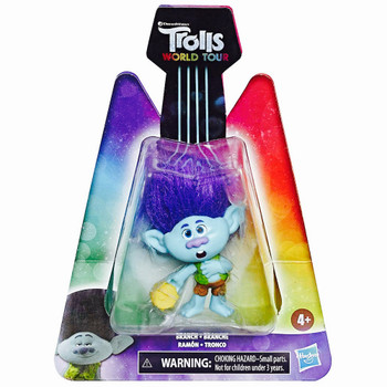 Branch Trolls World Tour Action Figure 2.5""