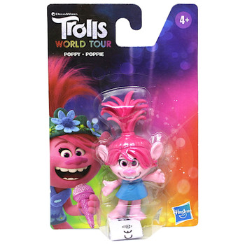 Poppy Trolls World Tour Action Figure 3""