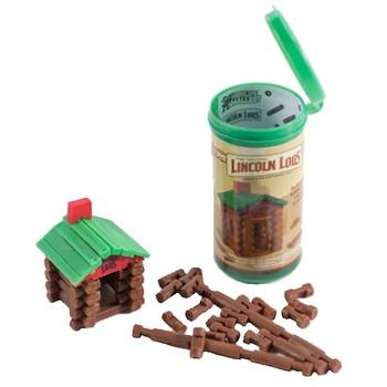 Worlds Smallest Lincoln Logs Building Set