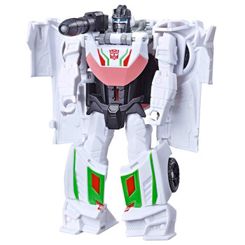 Wheeljack One Step Transformers Cyberverse Adventures Action Figure 4.5""