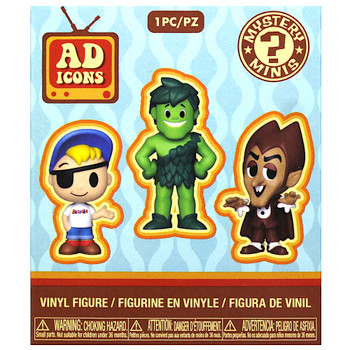 "Bazooka Joe Add Icons Mystery Mini Figure 3"" Sealed Box"