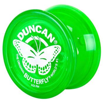 """Worlds Smallest Duncan Green Butterfly Yo Yo 1.5"""""""