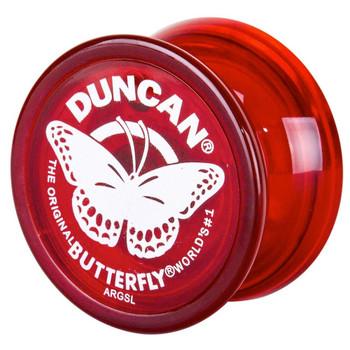 """Worlds Smallest Duncan Red Butterfly Yo Yo 1.5"""""""