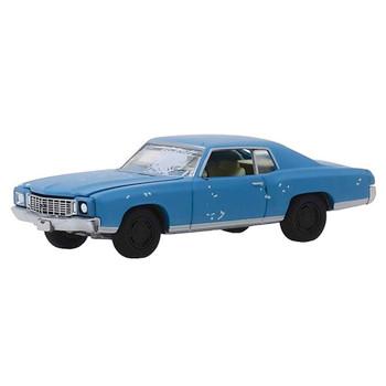 Ace Ventura Pet Detective 1972 Chevrolet Monte Carlo Greenlight Hollywood 1:64