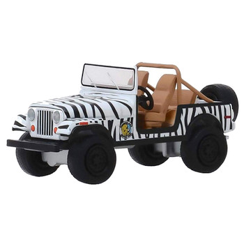 Ace Ventura When Nature Calls 1976 Jeep CJ-7 Greenlight Hollywood 1:64