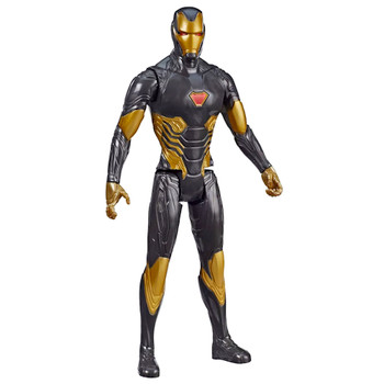 "Gold Iron Man Marvel Avengers 12"" Titan Hero Action Figure"
