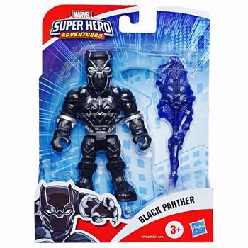 "Black Panther Marvel Super Hero Adventures Action Figure 5"""