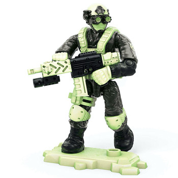 Shadow Company Soldier Glow in the Dark Call of Duty Mega Construx Figure