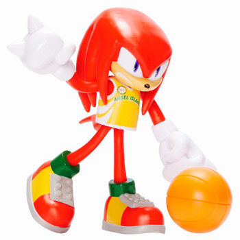 Knuckles with Basketball Sonic the Hedgehog Action Figure 4""