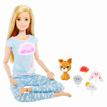 Yoga Barbie Breathe With Me Guided Meditation with Lights & Sounds