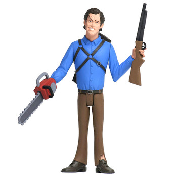 "Ash Evil Dead 2 Toony Terrors Action Figure 6"""