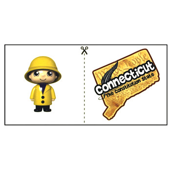 "Connecticut Ryan's World Road Trip Micro Figure 2"" (New Loose)"