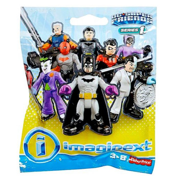 """Catwoman with her  Cat Isis DC Series 1 Imaginext Blind Bag 2.5"""""""