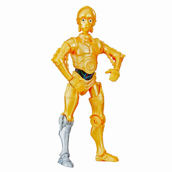 C-3PO Star Wars Galaxy of Adventures Action Figure 5""