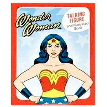 """Wonder Woman Talking Figure Running Press Miniature Editions 2.5"""""""