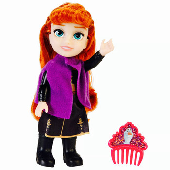 "Anna Petite Princess Adventure Doll with Comb 6"" Frozen 2"