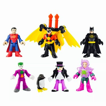 DC Super Friends Imaginext Deluxe Figure Pack with Penguin