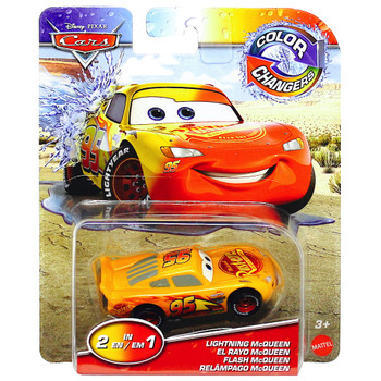 Lightning McQueen Disney Cars Color Changers 1/55 Scale