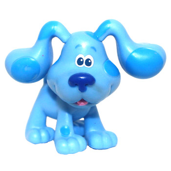 """Blue's Clues & You Happy Blue Collectible Figure 2"""" Factory Sealed"""