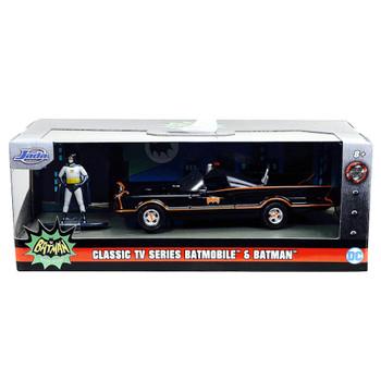 Classic TV Series  Batmobile & Figure Jada Diecast 1/32