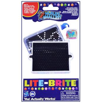 "World's Smallest Lite Brite 3.5"""