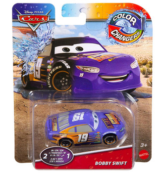 Bobby Swift Disney Cars Color Changers 1/55 Scale